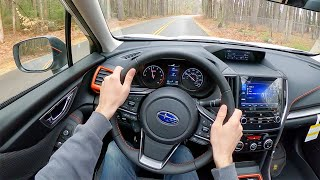 2021 Subaru Forester Sport - POV Test Drive by Tedward (Binaural Audio)