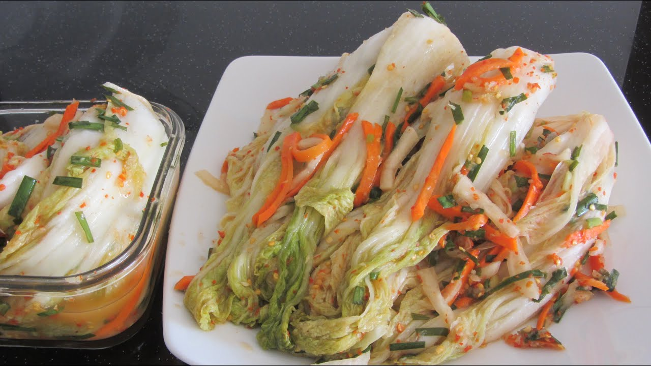 кимчи рецепт по-корейски видео