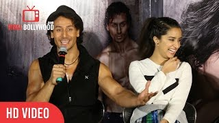 "Tiger Shroff Funny Reply to Media about GF "" Disha Patani """