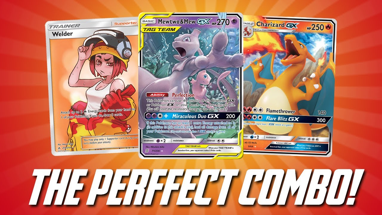 This Welder Mewtwo & Mew GX Deck is HOT!