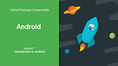 Android Developer Fundamentals - YouTube