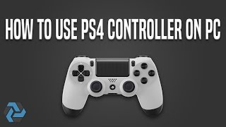How to use PS4 controller on PC (Easy) -Best Way-