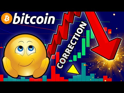 Daily Crypto Technical Analysis: CORRECTION On Bitcoin Soon?! // Bitcoin & Ethereum Price Prediction