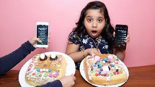 تحدي سيري تختار مكونات الكيك !!! SIRI CHOOSE MY CAKE INGREDIENTS CHALLENGE