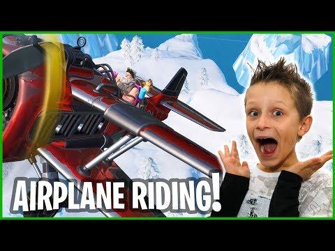 Season 7 Airplane Riding!