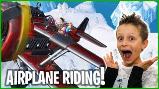 Season 7 Airplane Riding!