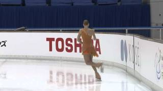 ISU 2014 Jr Grand Prix Aichi Ladies Short Program   Diana NIKITINA   LAT ニキティナ 検索動画 5