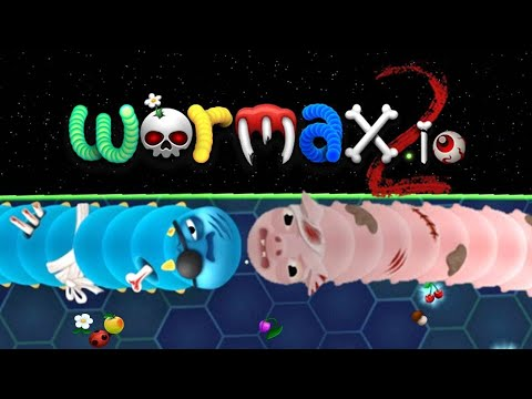 Wormax2.io 🍒🌼🍄 Best Kills - New Wormax.io Game With New Features 😇