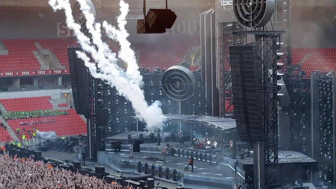 Rammstein live in Prague, Czech Republic 17.07.2019 - YouTube