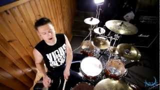 Maroon 5 - One more night (Rock remix/Drum cover by Mike Shishkin)
