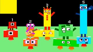 Numberblocks and Times Tables Band Retro