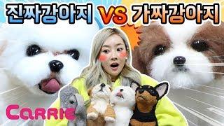 [엘리가 간다] 진짜 강아지 VS 가짜 강아지 | 어떤 강아지가 진짜일까요? WOOL FELT | 엘리앤투어