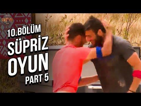 Sürpriz Ödül Oyunu 5. Part | 10. Bölüm | Survivor 2019 Türkiye Yunanistan