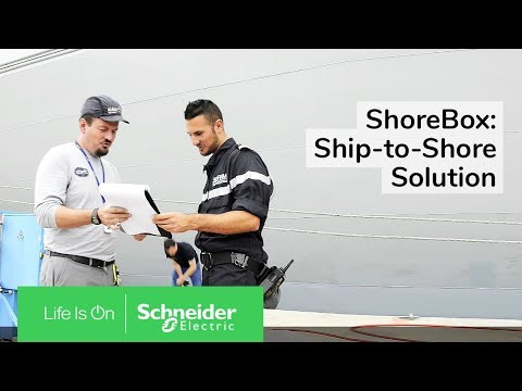 Naval base in Toulon France adopts ShoreBox provided by Schneider Electric