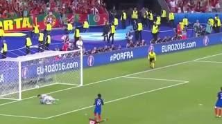 Португалия 1-0 Франция Гол Франции как это было(обзор матча,португалия смотреть онлайн, франция португалия трансляция, франция португалия онлайн трансляц..., 2016-07-12T07:56:48.000Z)
