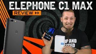 ELEPHONE C1 MAX 📱 Günstiges 6″ Smartphone? [Review, German, Deutsch]