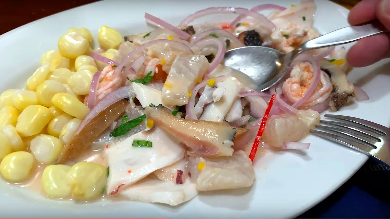 The Best Ceviche in Peru - De Alfredo - YouTube