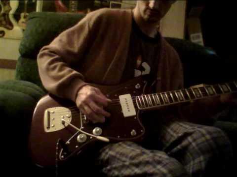 Fender Troy Van Leeuwen Jazzmaster - Oxblood, Bound Rosewood Fingerboard