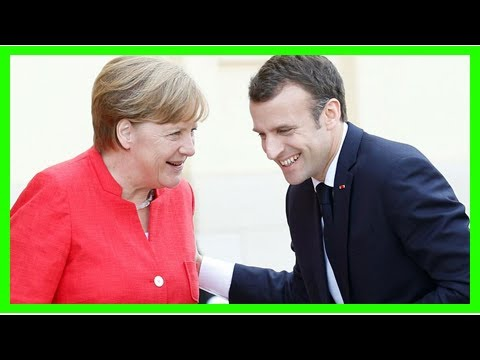 Breaking News | Watch again: Macron and Merkel want to agree Eurozone reform by June