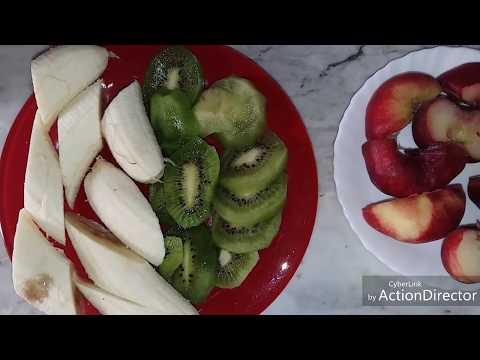 jus-des-fruits-variés-(kiwi,banane,pêche,menthe)