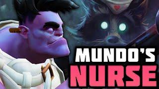 Origins of Dr. Mundo's Nurse