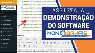 DEMONSTRAÇÃO DO MONOGRAFIS 2 0 ORIENTADOR DE TCC thumbnail