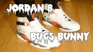 "Air Jordan 8 Retro ""Bugs Bunny"" Review/On Feet"
