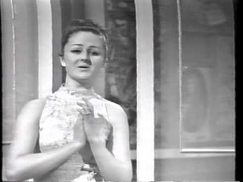 Edita Gruberova TV recital  Bratislava 1968