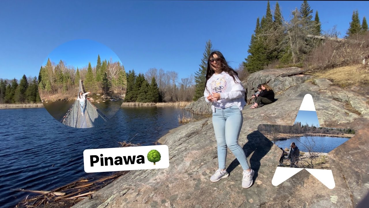 A beautiful day in pinawa Canada 🇨🇦 with the friends♥️يوم جميل مع الاصدقاء
