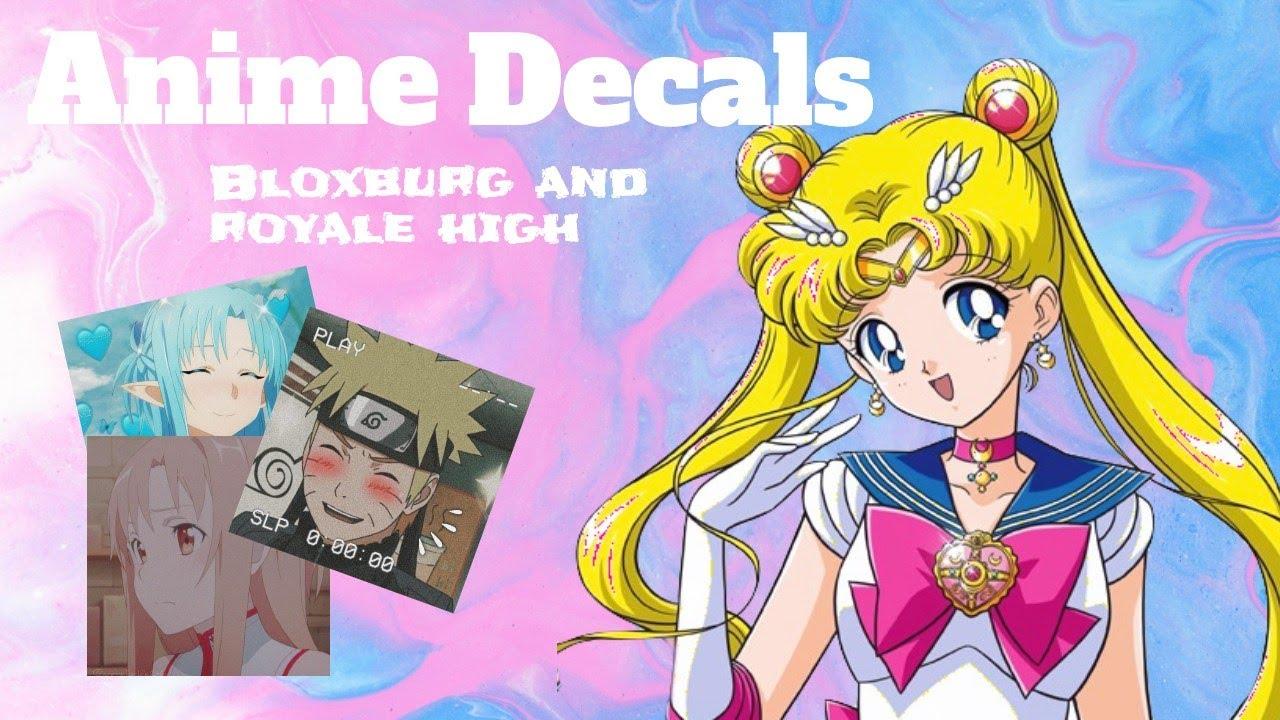 Anime Roblox Picture Codes For Bloxburg