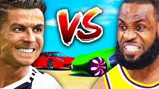Cristiano Ronaldo VS LeBron James - Car Collections