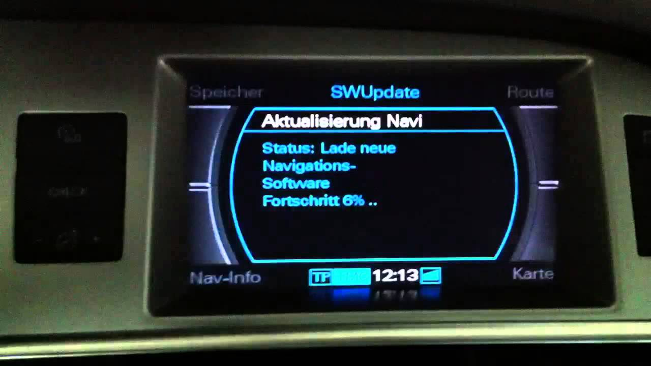 Audi Navi Update am MMI2 mit Navteq DVD 2014 - Navigation (English