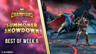 Marvel Contest of Champions: Summoner Showdown | Best of Week 6!