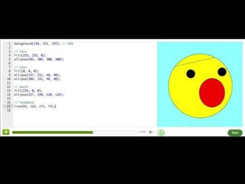 Coloring with code | Computer Programming | Khan Academy