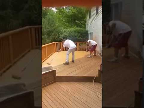 Paint Medics Deck Staining