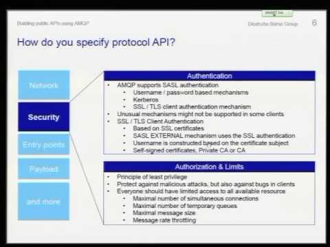 Building public APIs using the AMQP protocol - Jakub Scholz