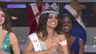 México se coronó como Miss Mundo 2018 gracias a la belleza de Vanessa Ponce de León