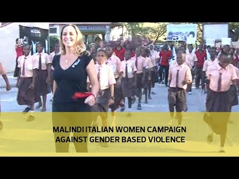 Malindi Italian women campaign against gender based violence