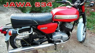 Заводим JAWA 350/634