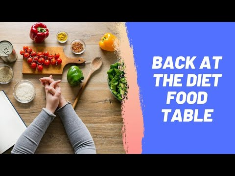 Back at the Diet Food Table