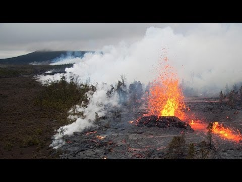 Hawaii Volcano eruption 31 year history - part 5 (2011 to present)