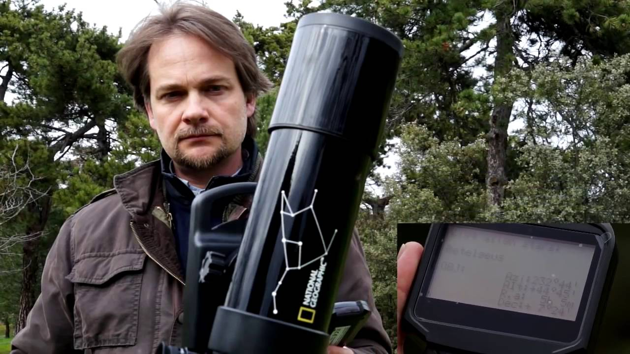 National Geographic Automatic 70//350 Telescopio