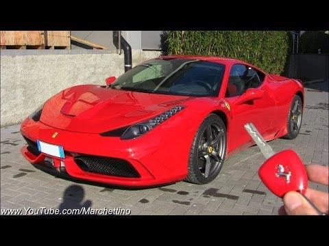 Ferrari 458 Speciale Pure Exhaust Notes!