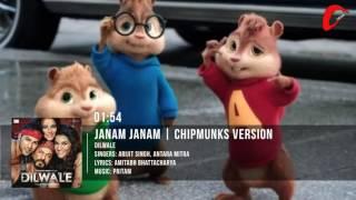 Janam Janam – Dilwale | Shah Rukh Khan | Kajol | Chipmunks Version