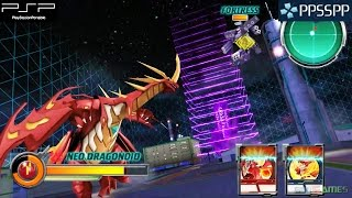 Bakugan: Defenders of the Core - PSP Gameplay 1080p (PPSSPP)