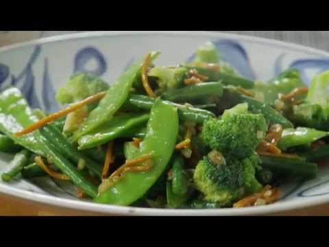 How to Make Ginger Veggie Stir Fry | Vegetarian Recipes | Al