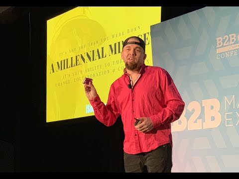 How To Get Inside The Mind Of The Digitally Plugged Generation | B2BMx Keynote Brian Fanzo