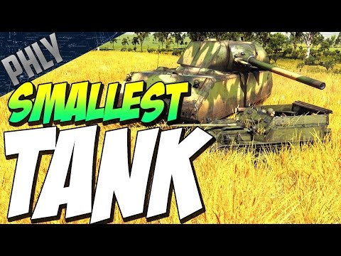 SMALLEST TANK IN GAME - ASU-57 3.3 TON BEAST (War Thunder Gameplay)
