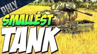 Smallest Tank In Game - Asu-57 3.3 Ton Beast (War Thunder Gameplay)