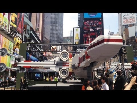Full Sized LEGO X Wing Fighter